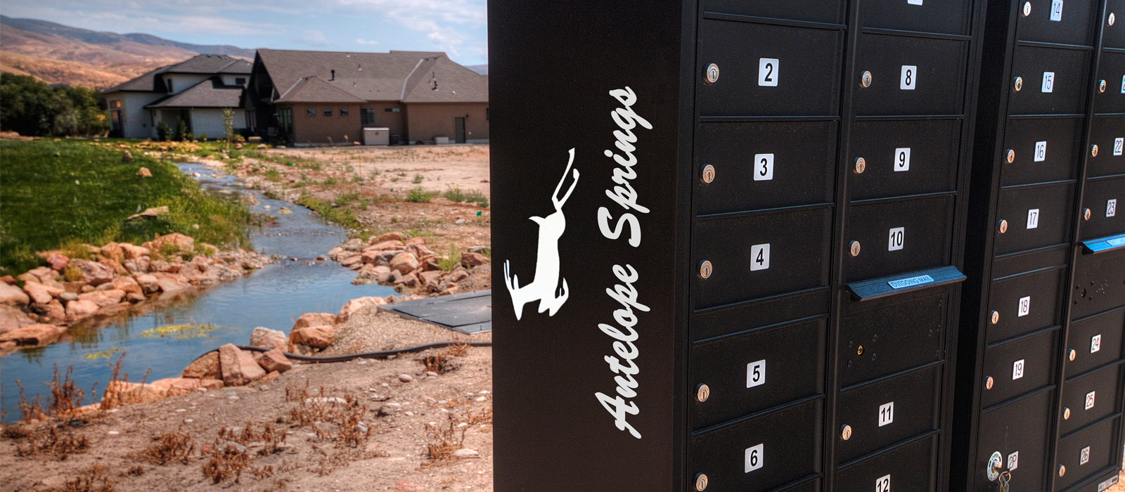 Antelope Springs Community Mailboxes