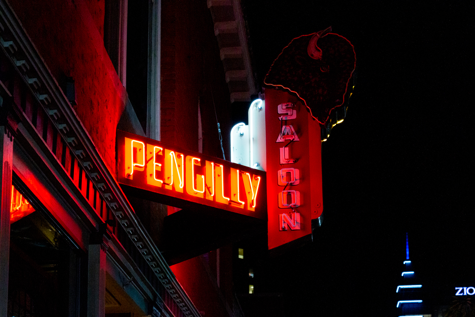 pengilly saloon downtown Boise Idaho