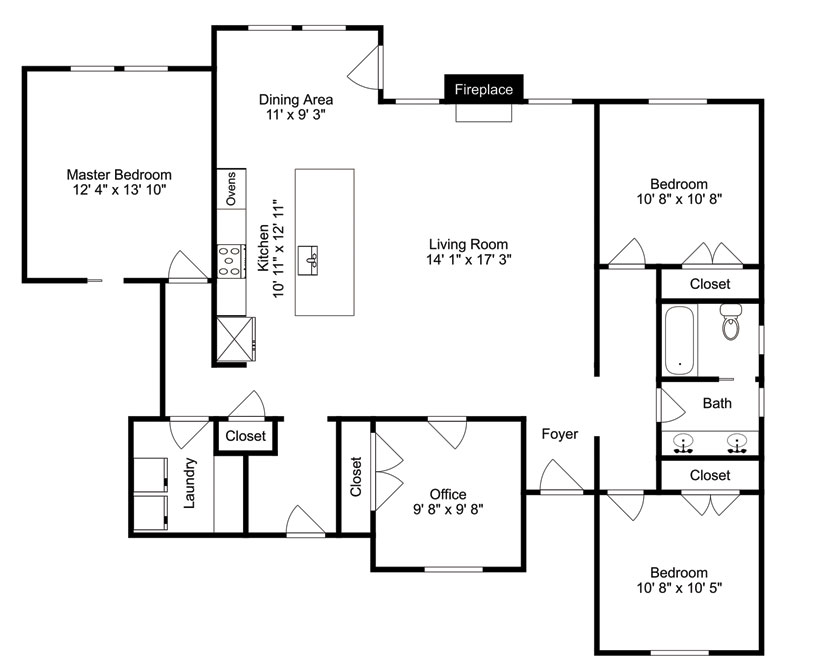 Floorplan | For Sale Eagle | Patty Eckebrecht