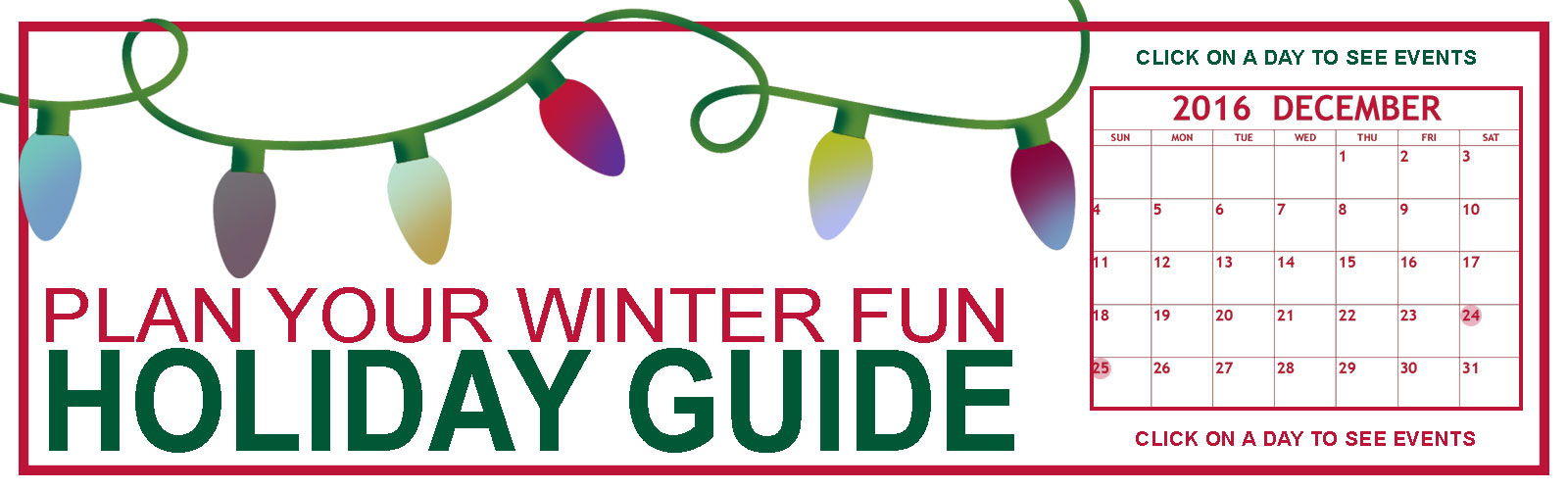 Boise, Idaho Holiday Christmas Guide 2016