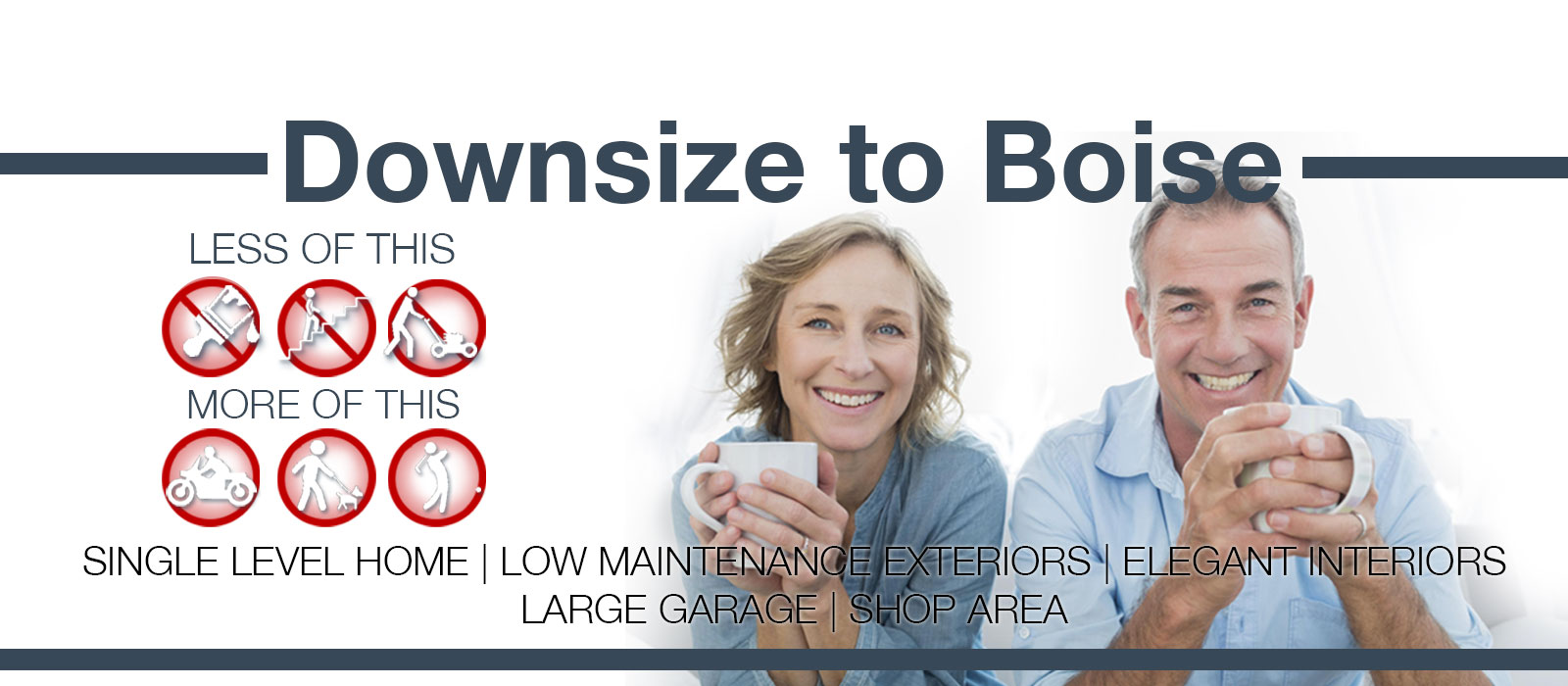Downsize Homes in Boise Idaho