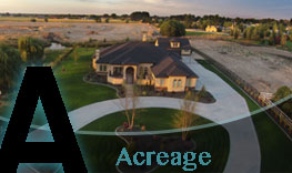 Search Boise Homes for Sale with Acreage