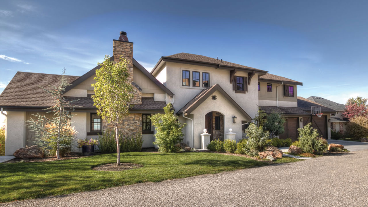 Build Idaho Example of Listing Services - Exterior Real Estate Phototgraphy