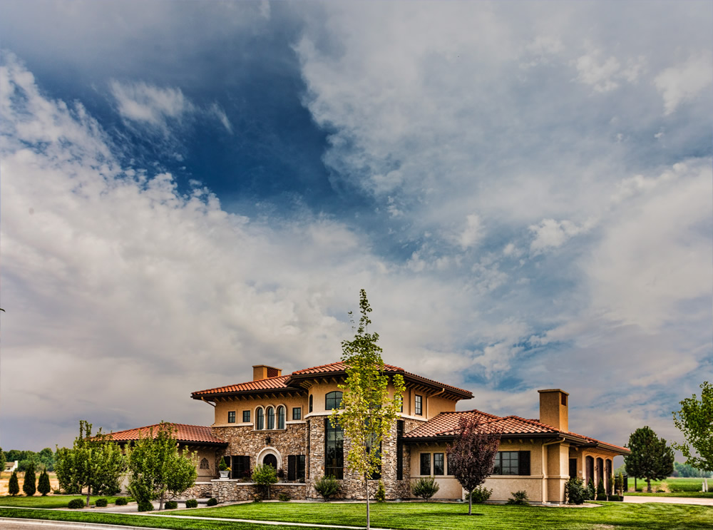 Eagle Idaho Custom Home in The Estates