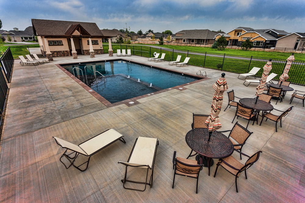 Alpine Pointe Community Pool Above