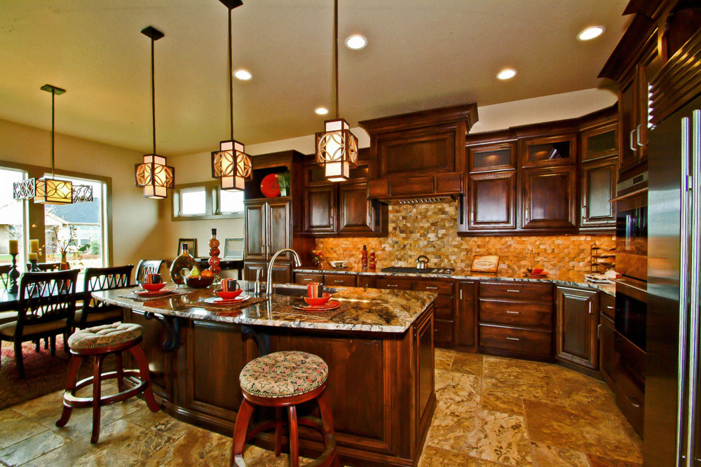 Blackstead Building Company Meridian Idaho 2011 Parade Home Kitchen Award Winning