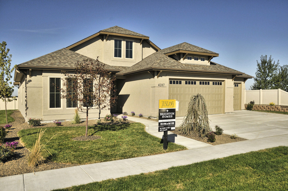 Brighton Homes Boise Idaho 2011 Fall Parade Home in Tuscany Subdivision Meridian Idhao