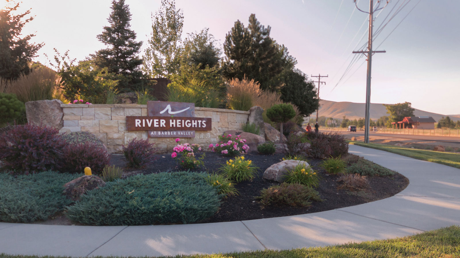 River Heights subdivision in Boise Idaho