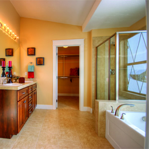 Coleman Homes Meridian Idaho Master bath