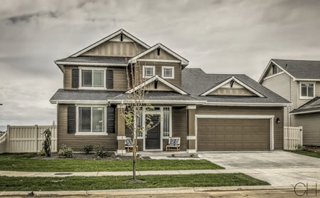 Coleman 2016 Parade Home at Timbermist Subdivision in Kuna