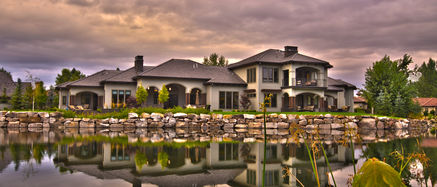 Flaherty custom homes of meridian idaho for Building a house in idaho