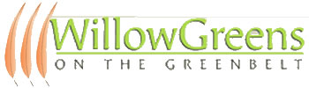 Willowgreens Subdivision on the Boise Greenbelt logo