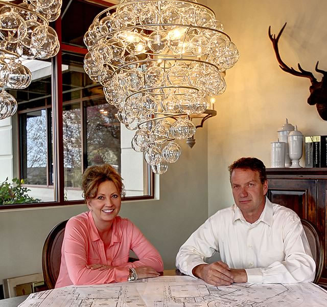 Gary and Tammy Schacher of Northern Construction