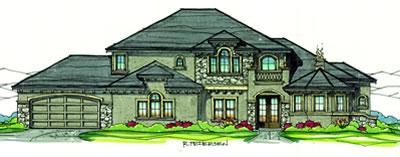2010 Parade Home by Flaherty Construction in The Shores