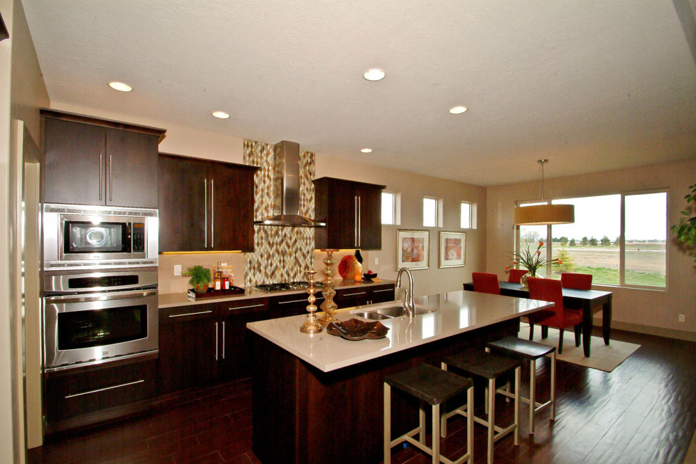 Tahoe Homes Parade Home Award Winning Kitchen
