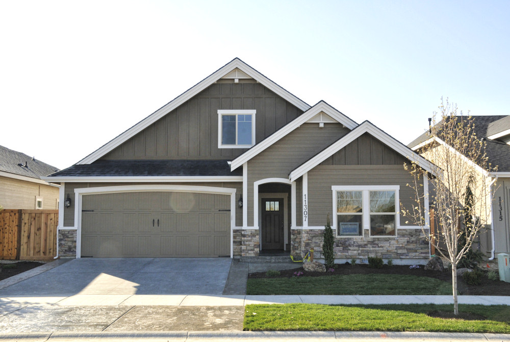 Tradewinds Building Company Parade Homne in Hazewood Village in Southwest Boise
