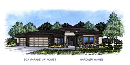 2015 Eagle Idaho Parade Home by Gardner Homes