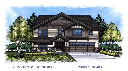 2015 Meridian  Idaho Parade Home by Hubble