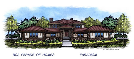 2015 Eagle Idaho Parade Home by Paradigm Construction