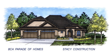 2015 Meridian Parade Home by Stacy Construction