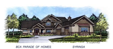 2015 Eagle Idaho Parade Home by Syringa Construction