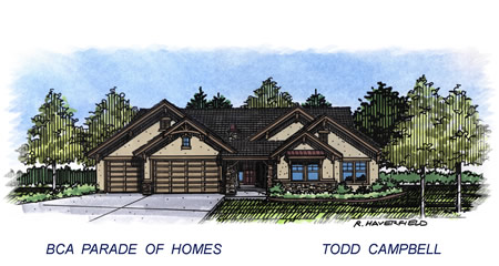 2015 Meridian Idaho Parade Home by Todd Campbell