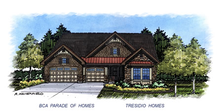 2015 Eagle Parade Home by Tresidio