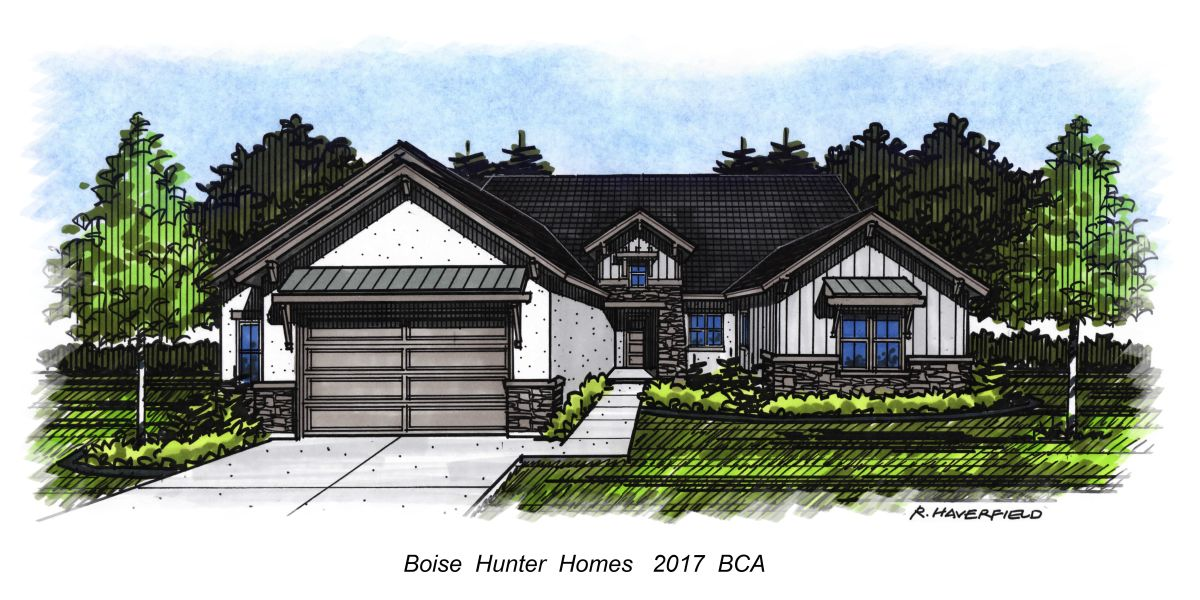 Boise Idaho Parade of Homes 2016- by Boise Hunter Homes