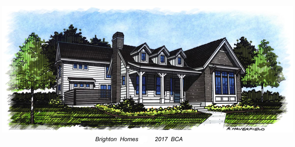Brighton Homes 2017 Parade Home at Cartwright Ranch Subdivision in Boise
