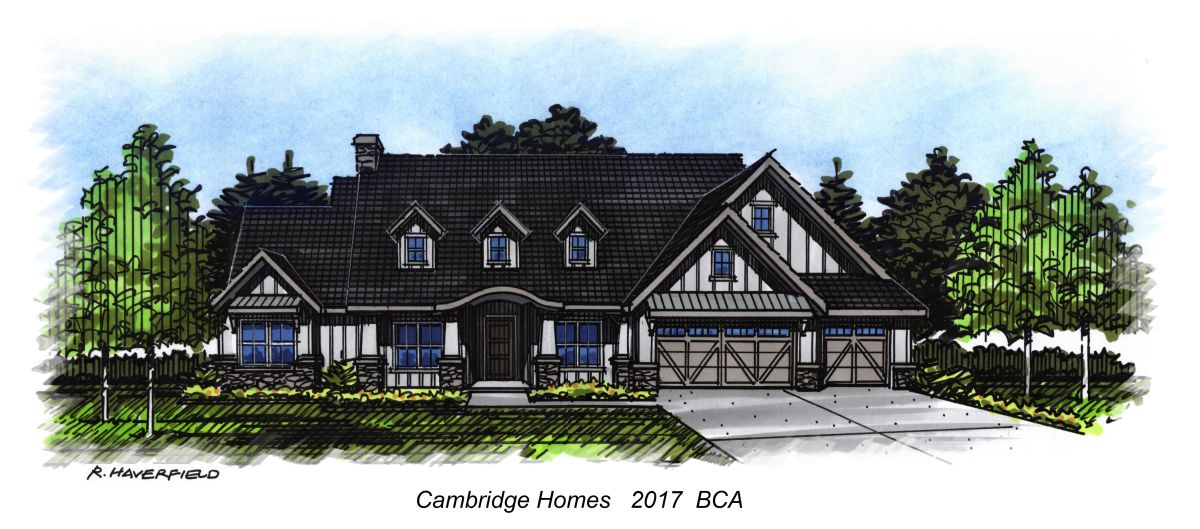 Cambridge Homes 2017 Parade Home at Mace River Ranch Subdivision in Eagle