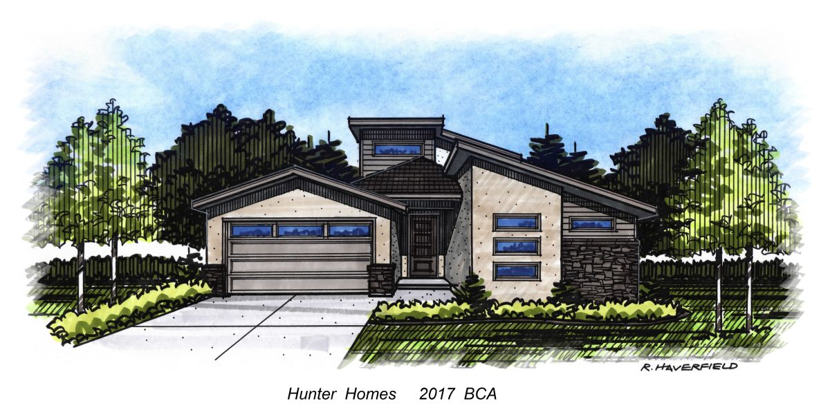 Hunter 2017 Parade Home at Northwest Hills Subdivision in Boise
