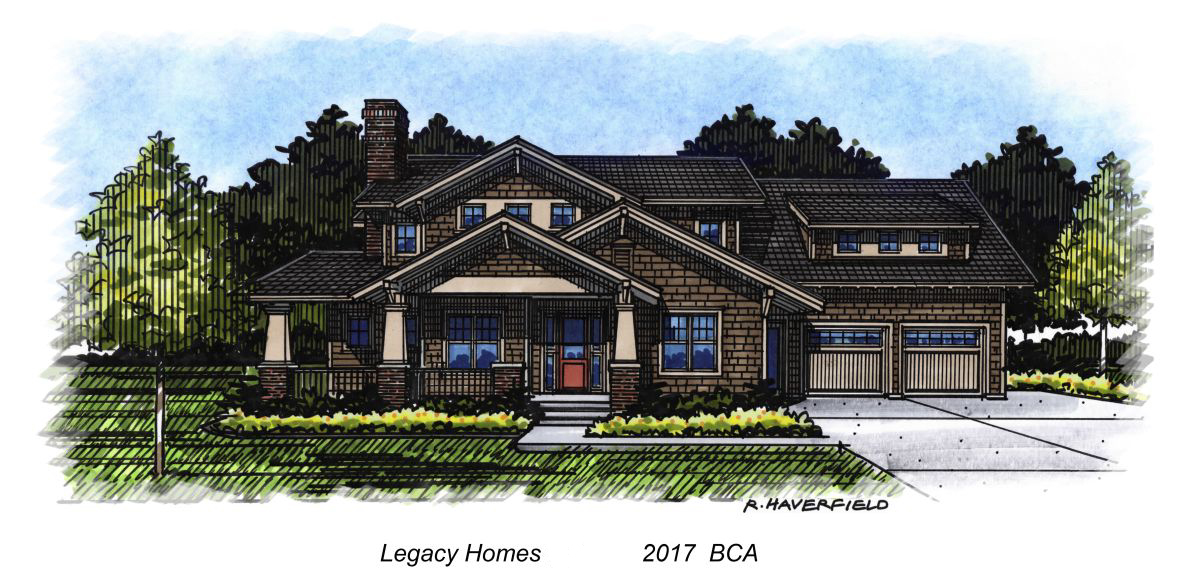 Legacy 2017 Parade Home at Mace River Ranch Subdivision in Eagle