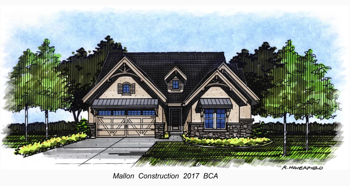 Mallon Construction 2017 Parade Home at Lakemoor Subdivision in Eagle