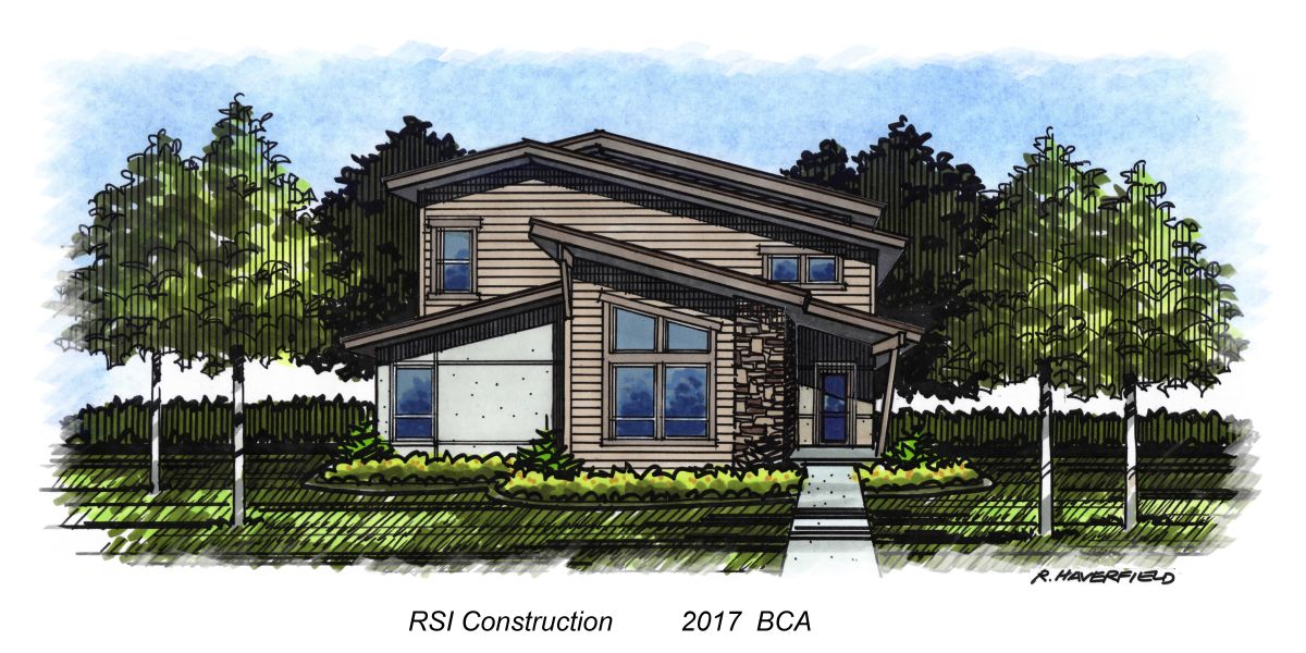 RSI Construction 2017 Parade Home at Alderwood Village Subdivision in Eagle