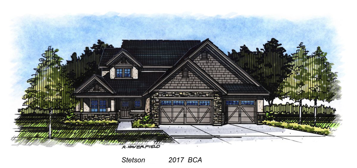 Stetson  2017 Parade Home at Legacy Subdivision in Eagle
