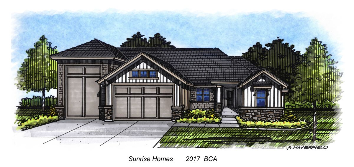 Sunrise  Homes 2017 Parade Home at Star Creek Subdivision in Star