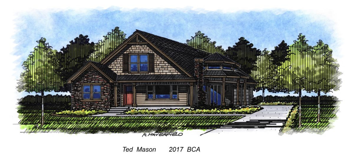 Boise Idaho Parade of Homes 2017- by Ted Mason Signature Homes