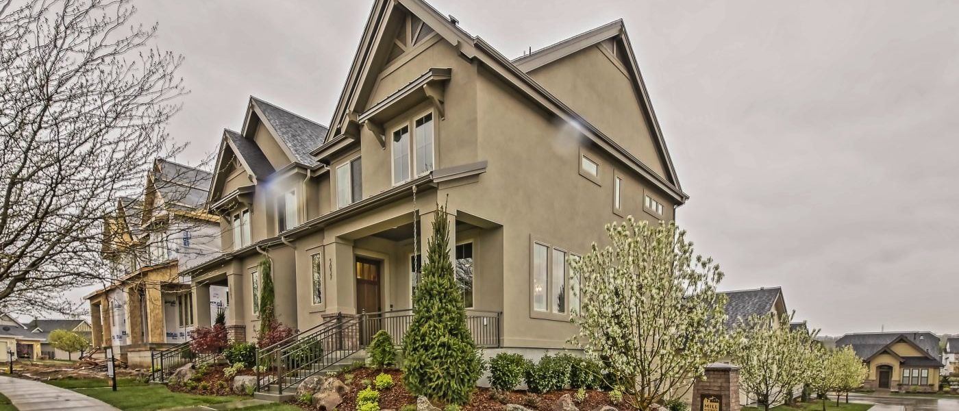 2014 Boise Idaho Parade of Homes Brighton Mill District Square