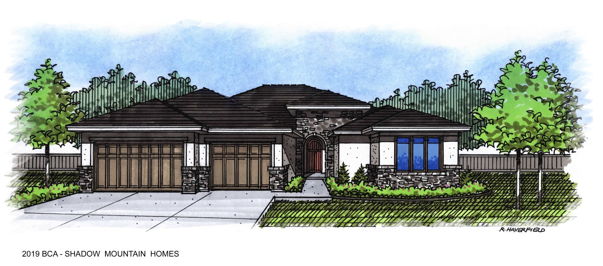 2019 Boise Idaho Parade Home by Shadow Mountain Homes