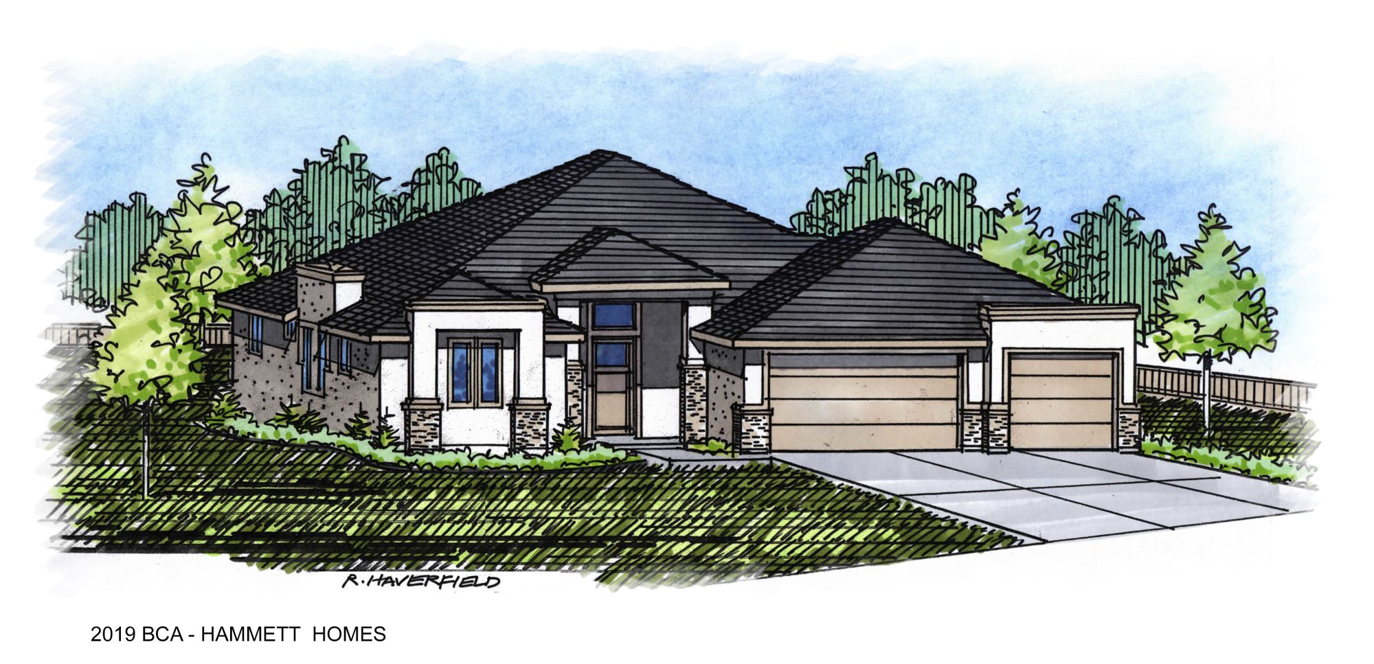 2019 Boise Idaho Parade Home by Hammett Homes
