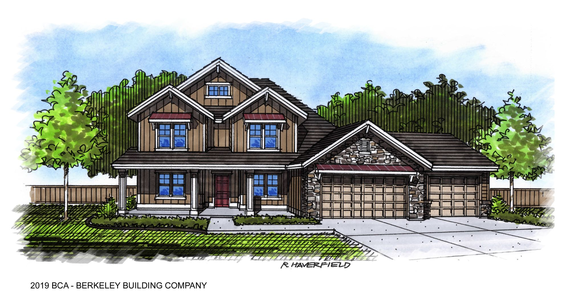 2019 Boise Idaho Parade Home by Berkeley Building Company
