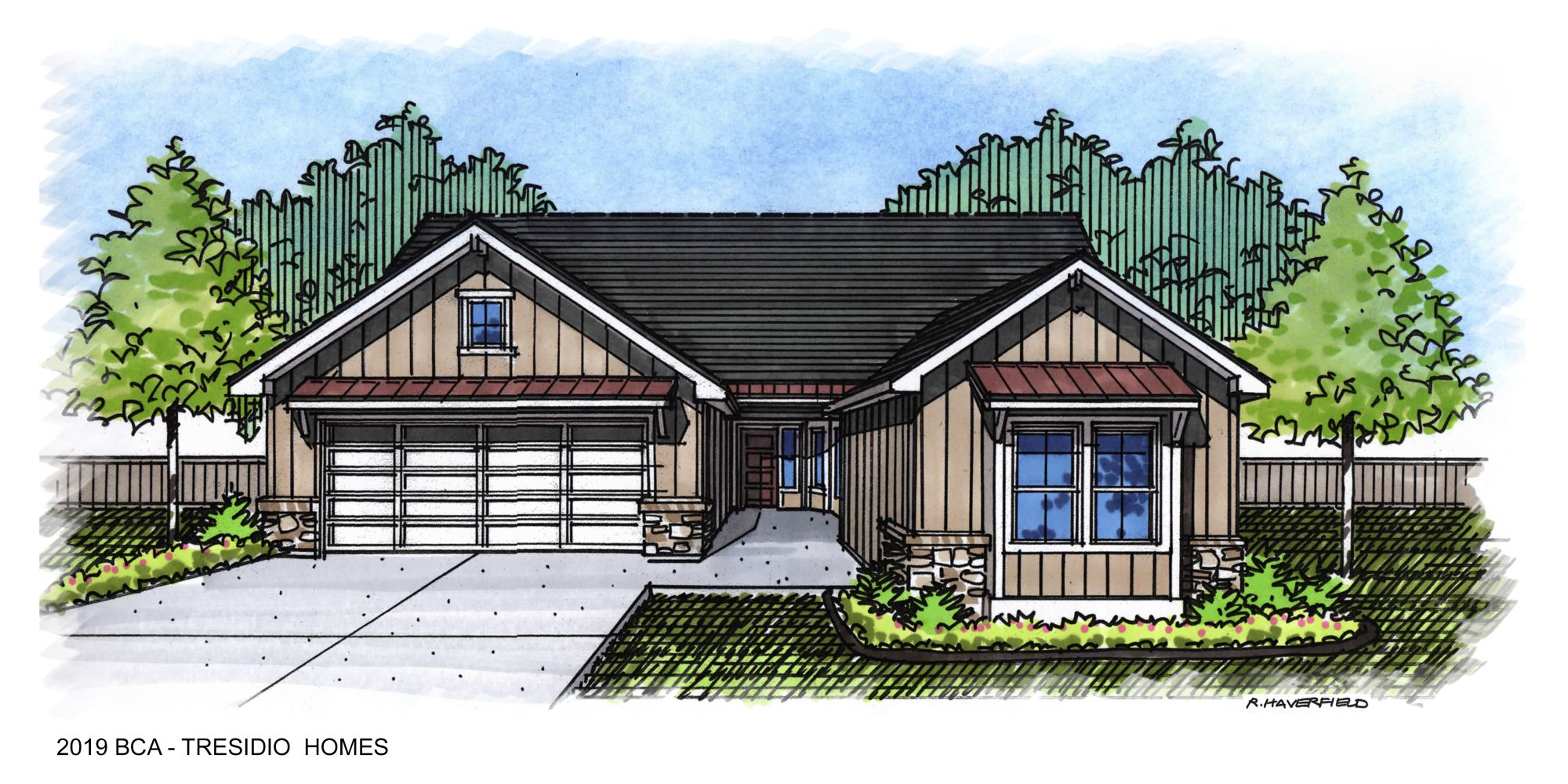2019 Boise Idaho Parade Home by Tresidio
