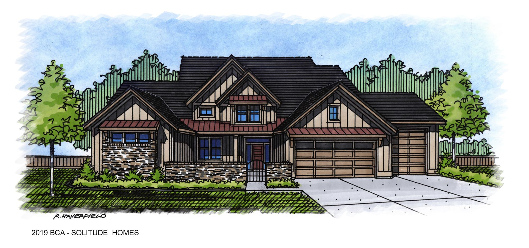 2019 Boise Idaho Parade Home by Soitude Homes