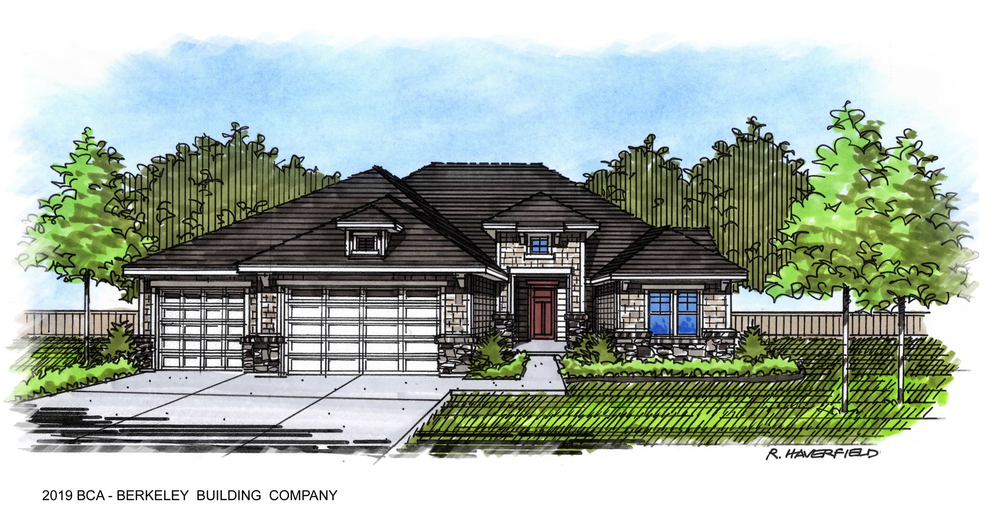 2019 Boise Idaho Parade Home at Heron River by Berkeley Building Company