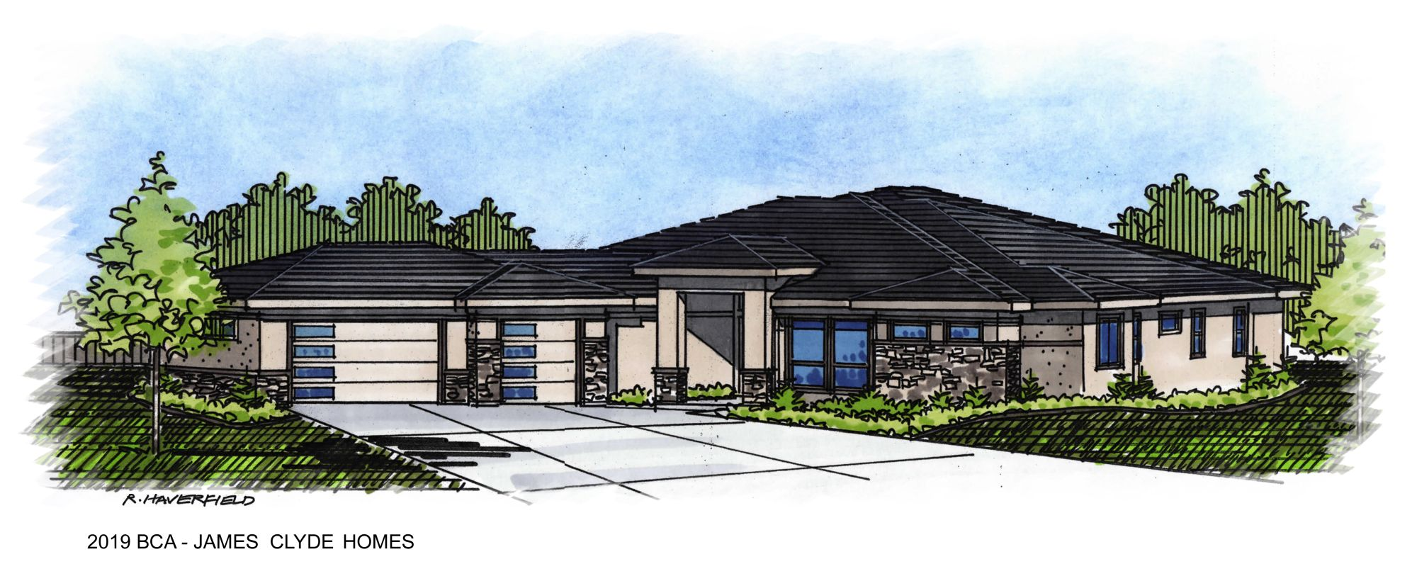2019 Boise Idaho Parade Home by James Clyde