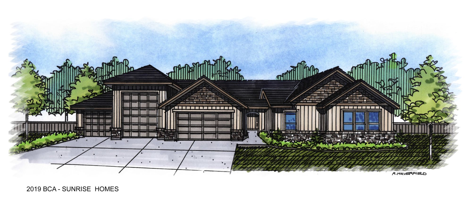 2019 Boise Idaho Parade Homes- Sunrise Homes of Idaho at Starcreek in Star Idaho