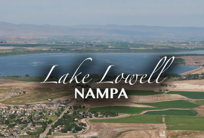 New communities south of Lake Lowell in Idaho + Homes for Sale