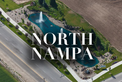 North Nampa Idaho New Communities + Homes for Sale