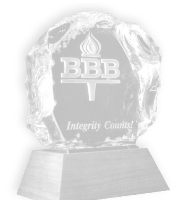 Better Business Bureau- Integrity Counts Award