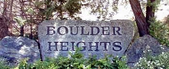 Boulder Heights Boise Idaho